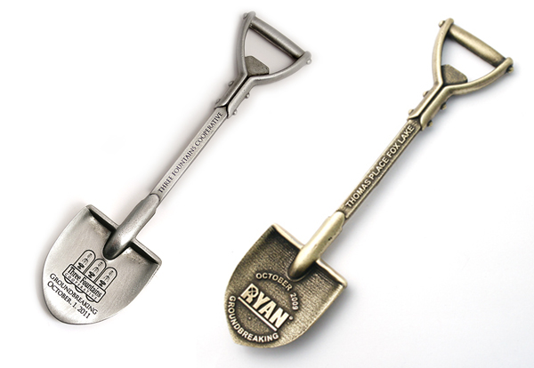 6 3/4 Inch Bottle Opener Shovel Keepsake
